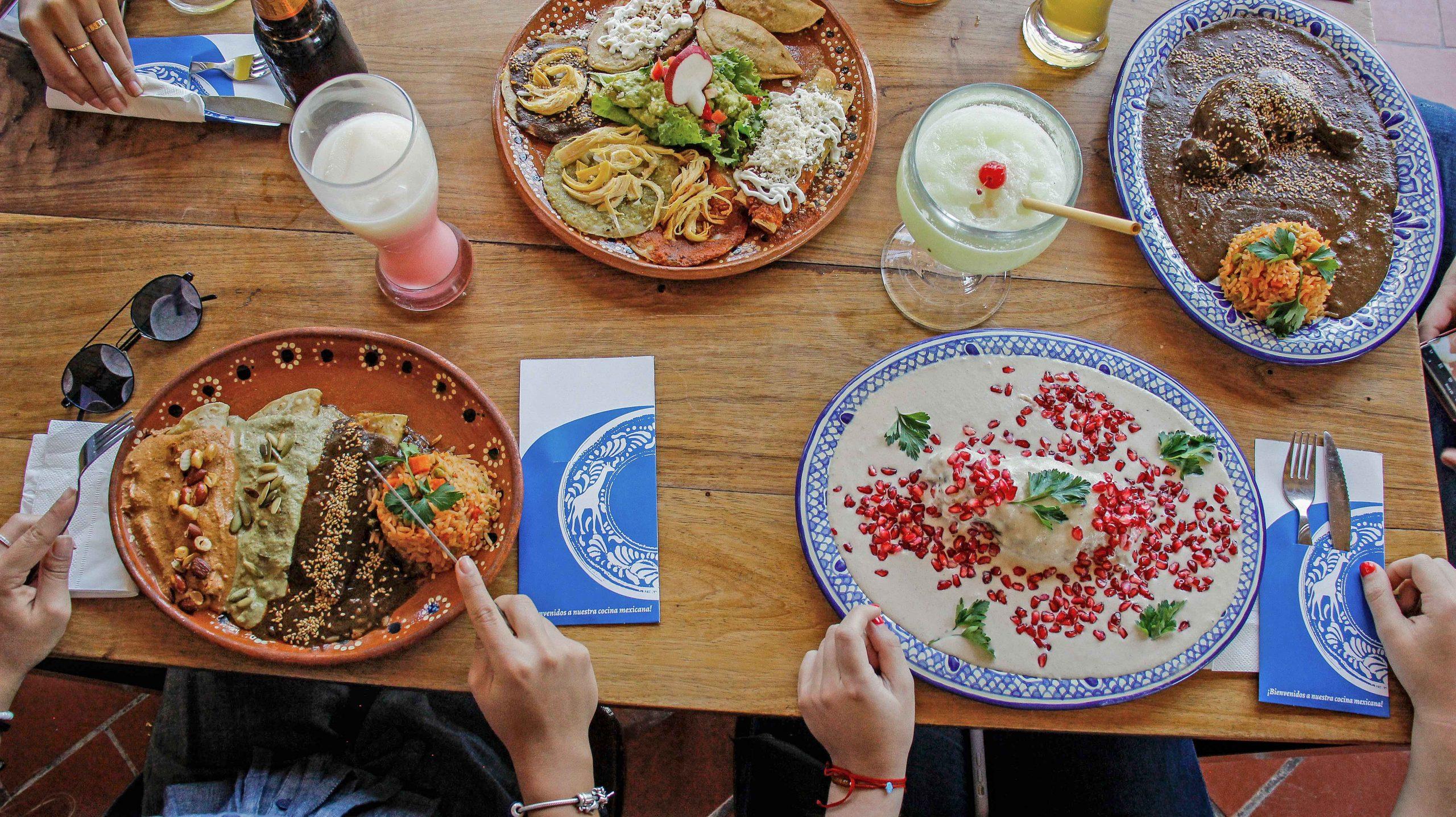 Restaurantes de Puebla - Plato hondo