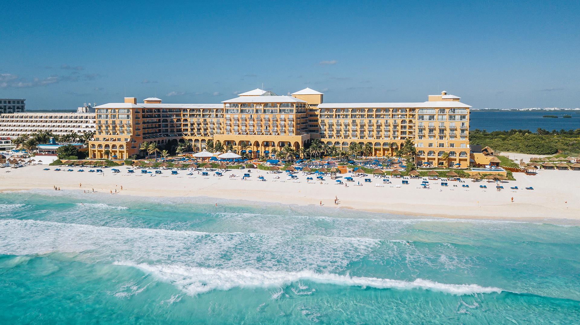 Panorámica The Ritz-Carlton Cancún