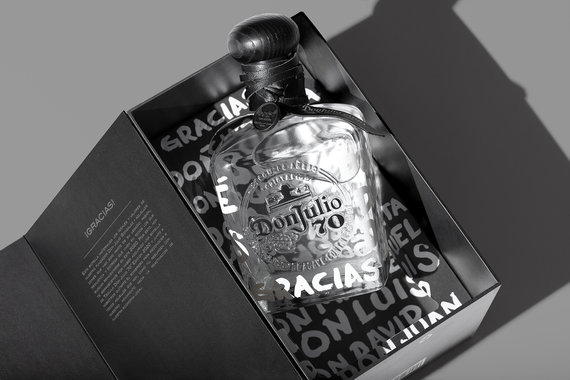 Tequila Don Julio: solidaridad embotellada