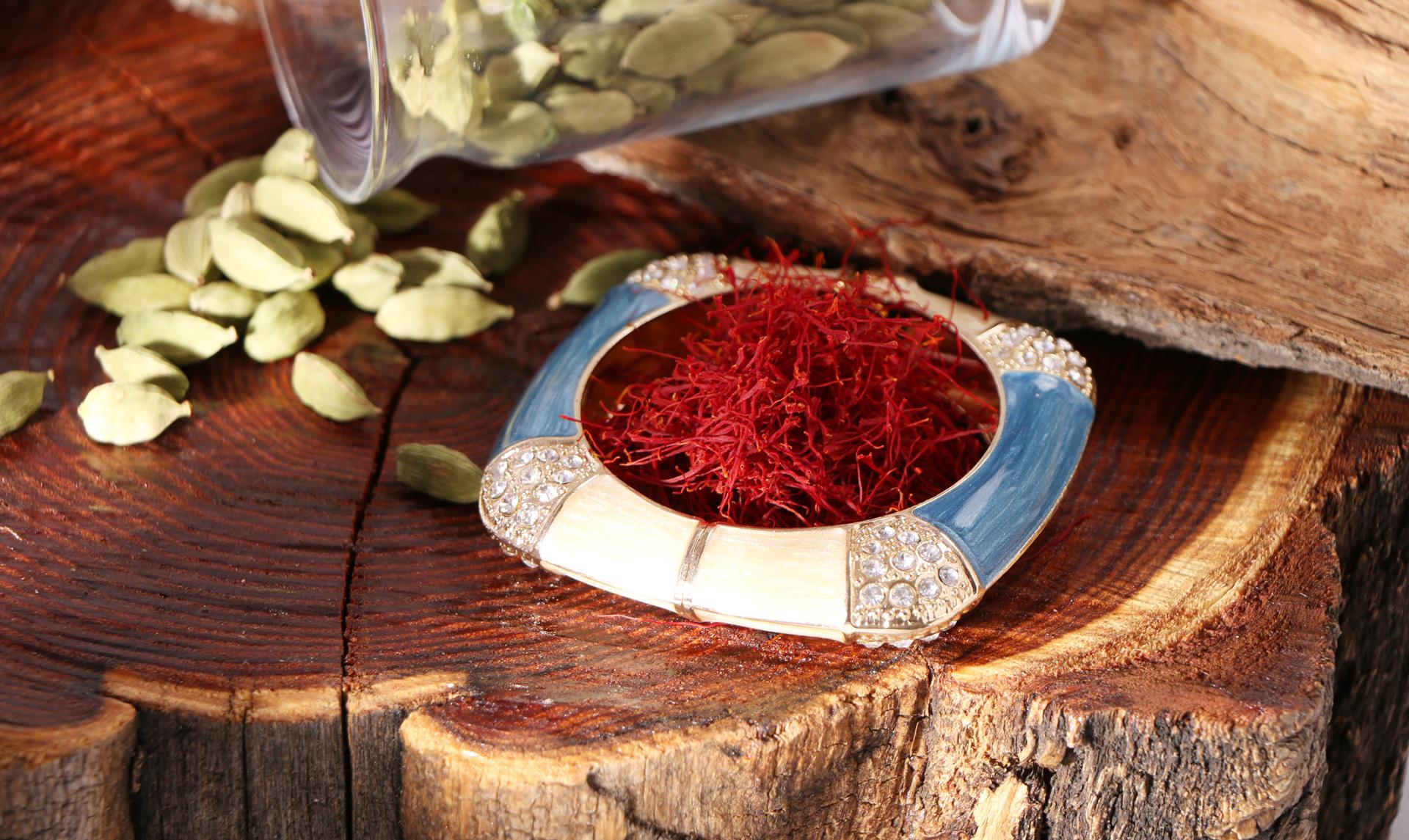 Azafrán, risotto azafranado