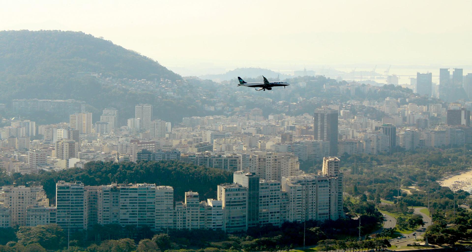 Brasil, Países que permiten vuelos desde México