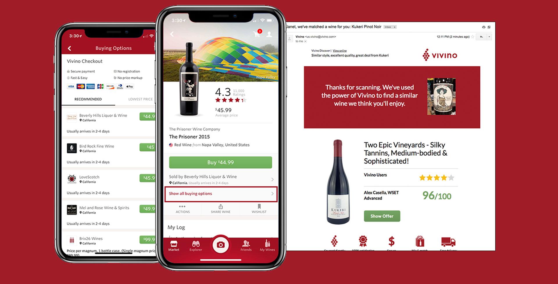 Vivino, app para foodies