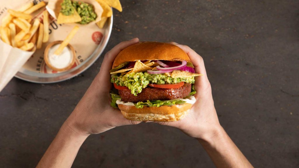 Awesome Burguer, carne a base de plantas
