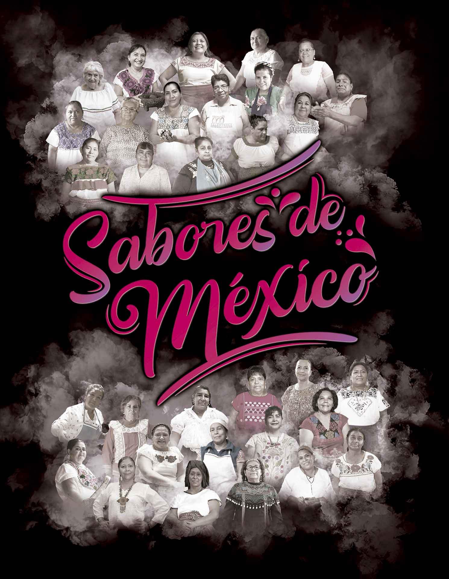 Libro Sabores de México