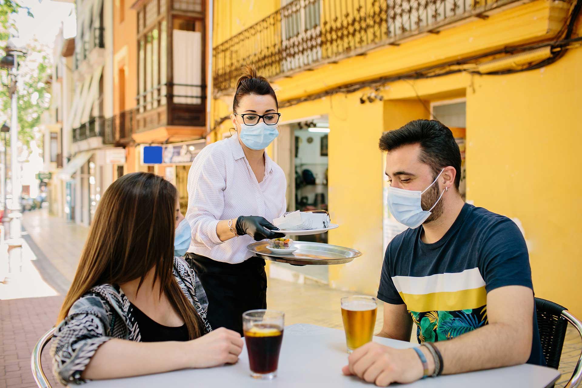Restaurantes durante la pandemia