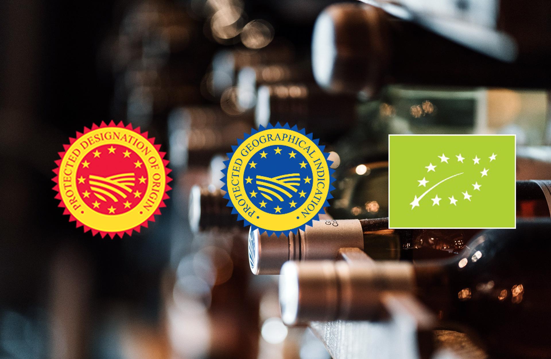 Sellos de calidad Unión Europea