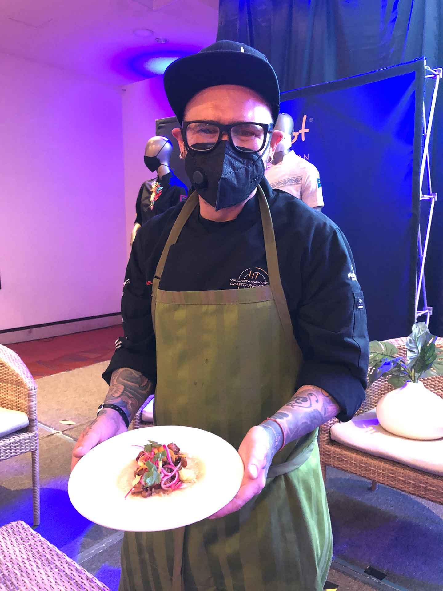 Chef Pablo Salas