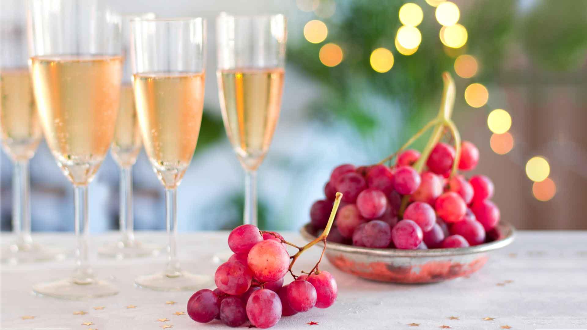 alimentos Año Nuevo uvas