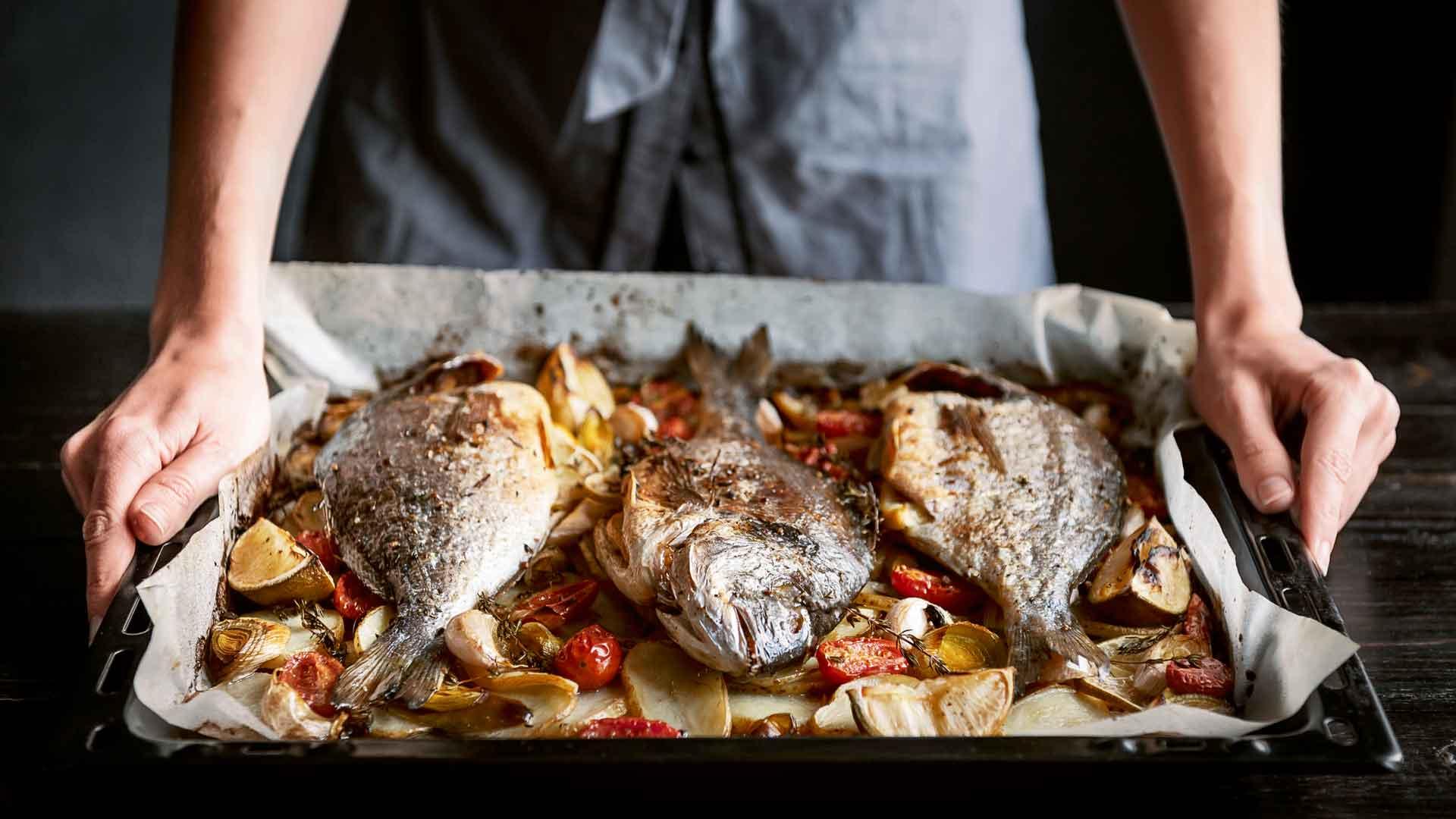 alimentos Año Nuevo pescado