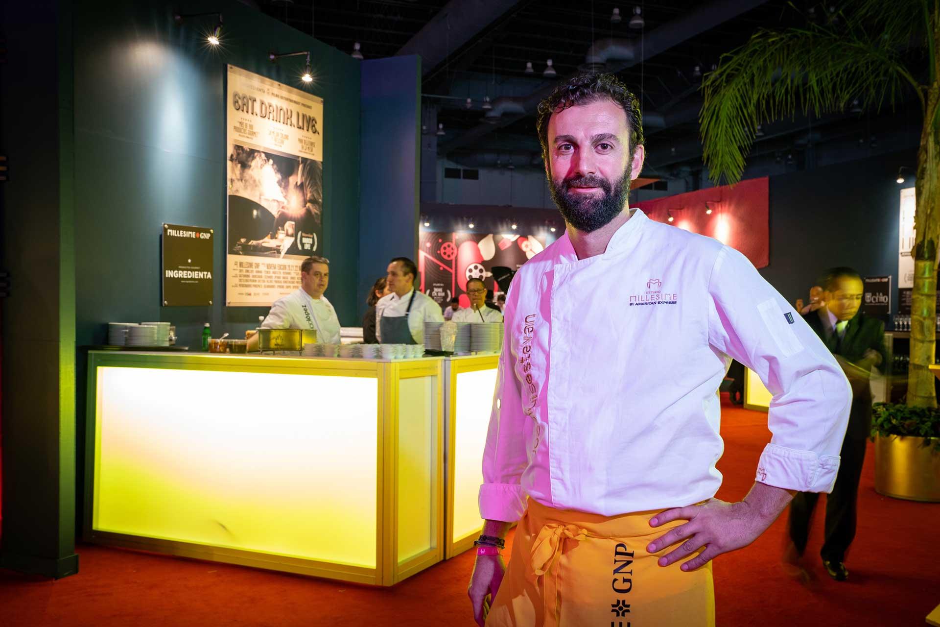Chef José Luis Estevan