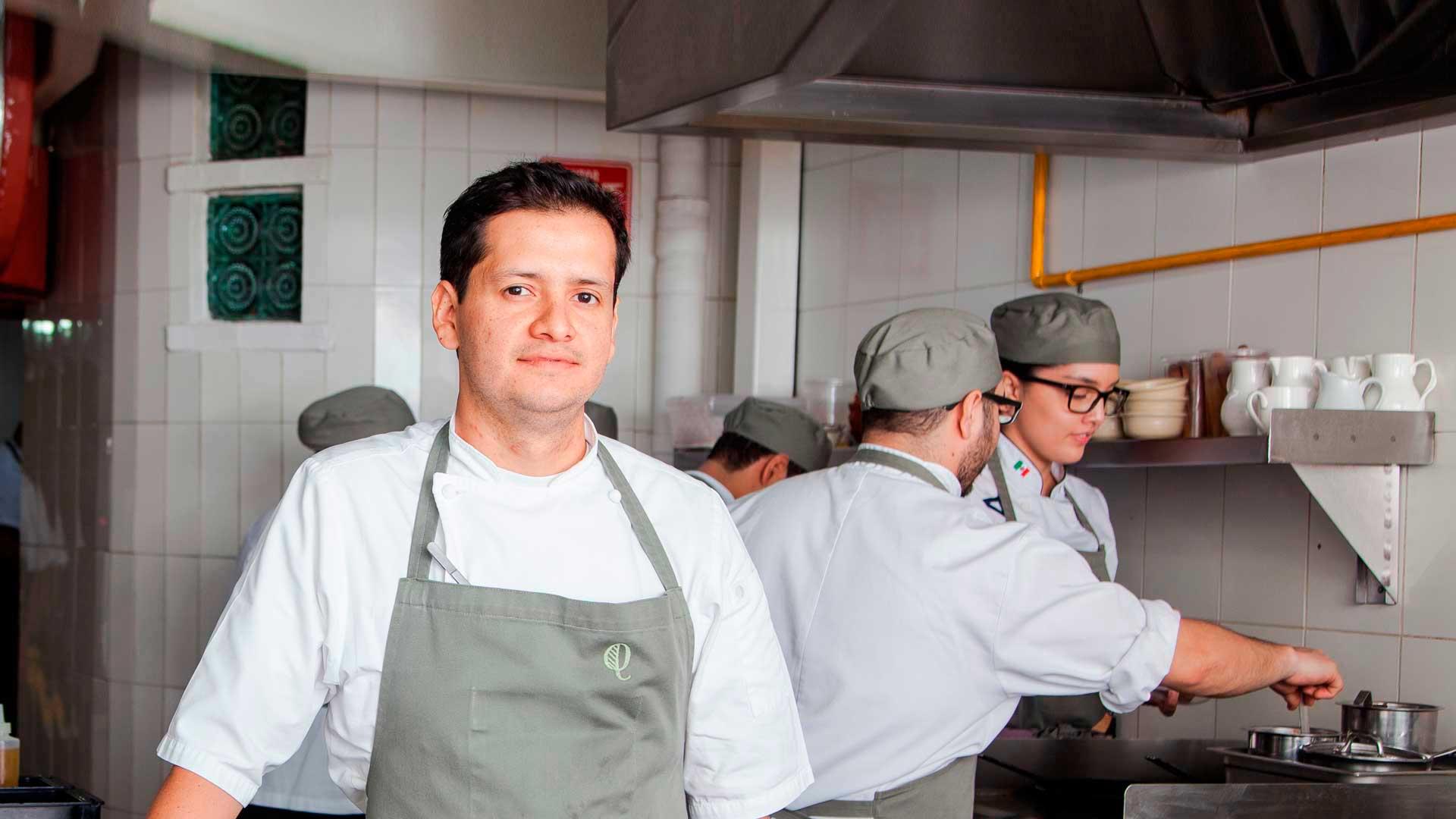 Chef Jorge Vallejo