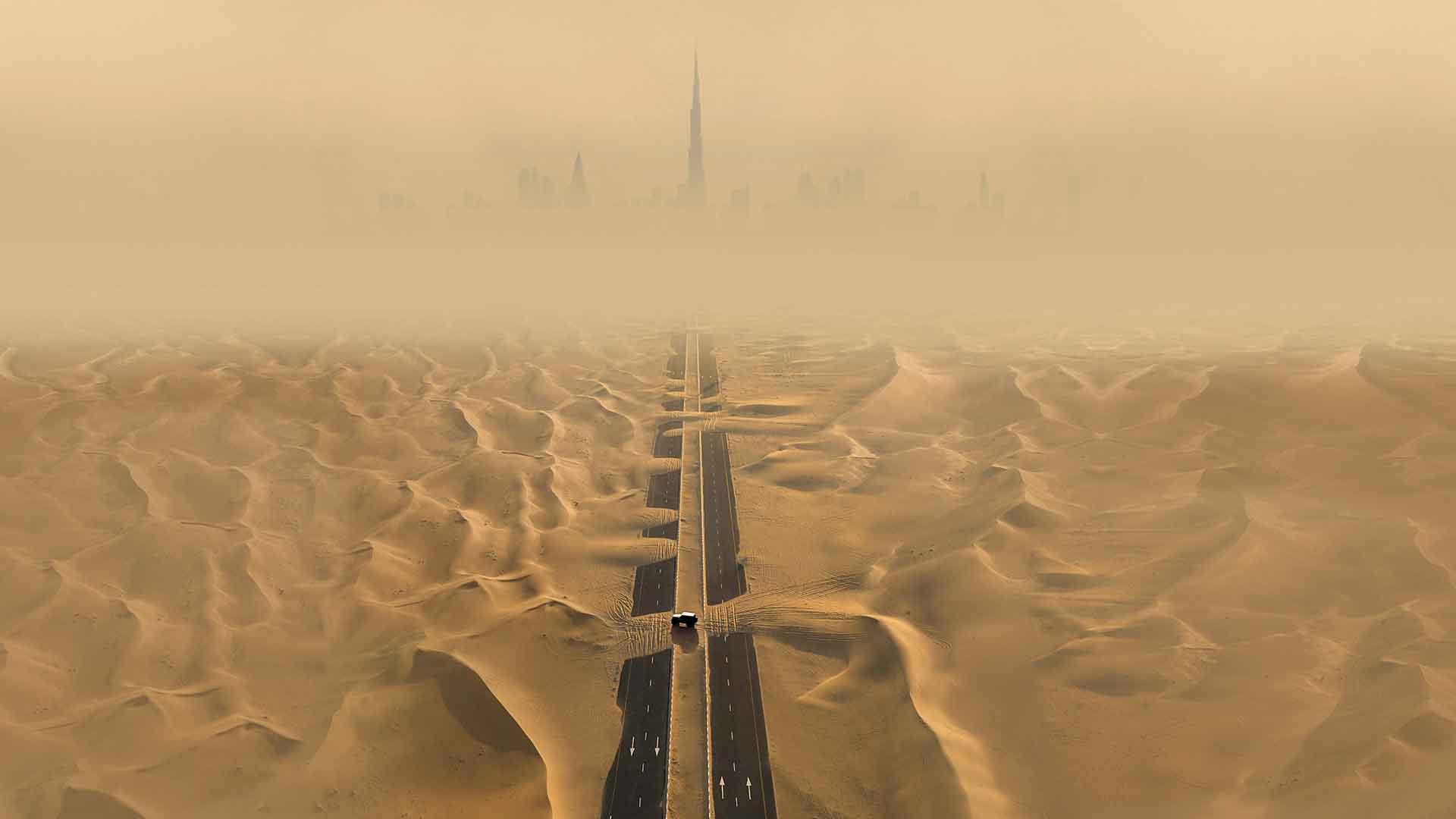 capturas aéreas DUBAI-UAE