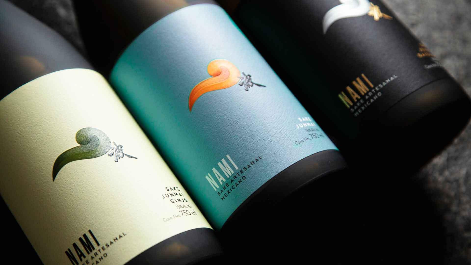 Conoce la nueva imagen de Nami, el único sake mexicano