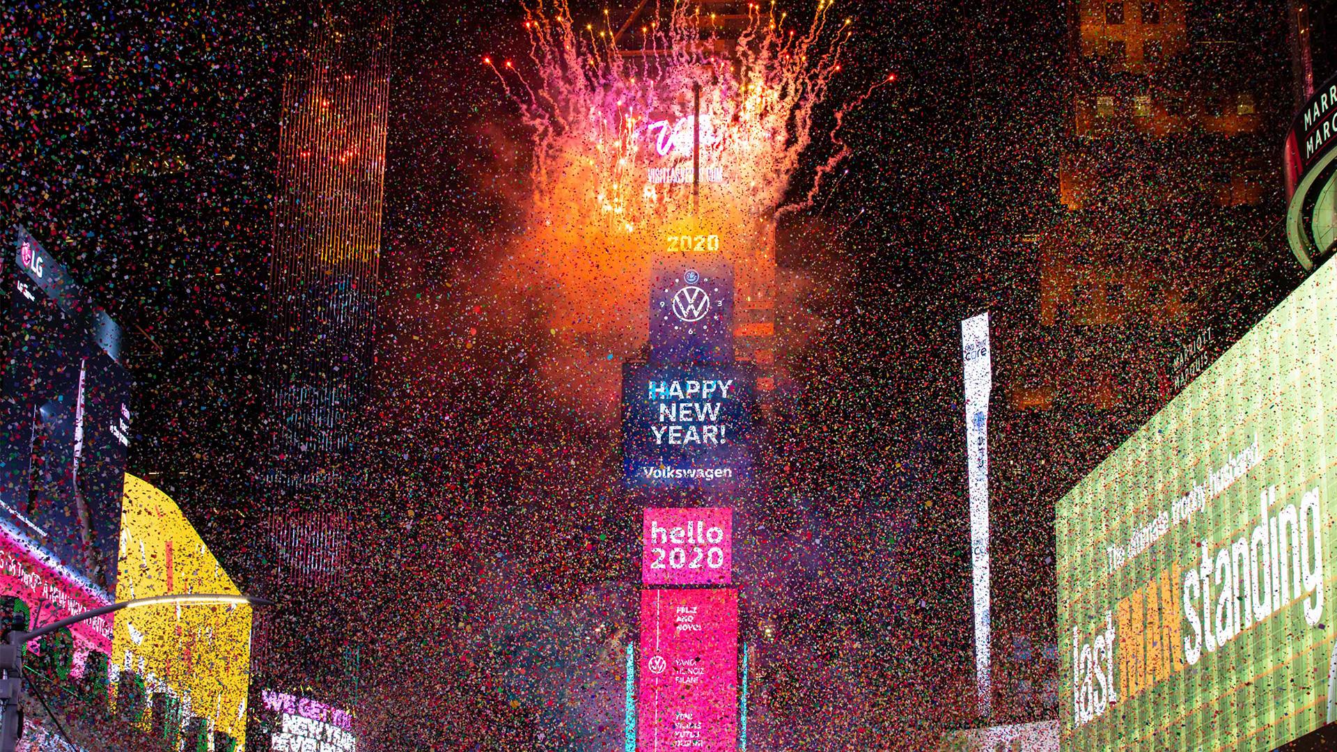 Experiencias virtuales para celebrar el Año Nuevo