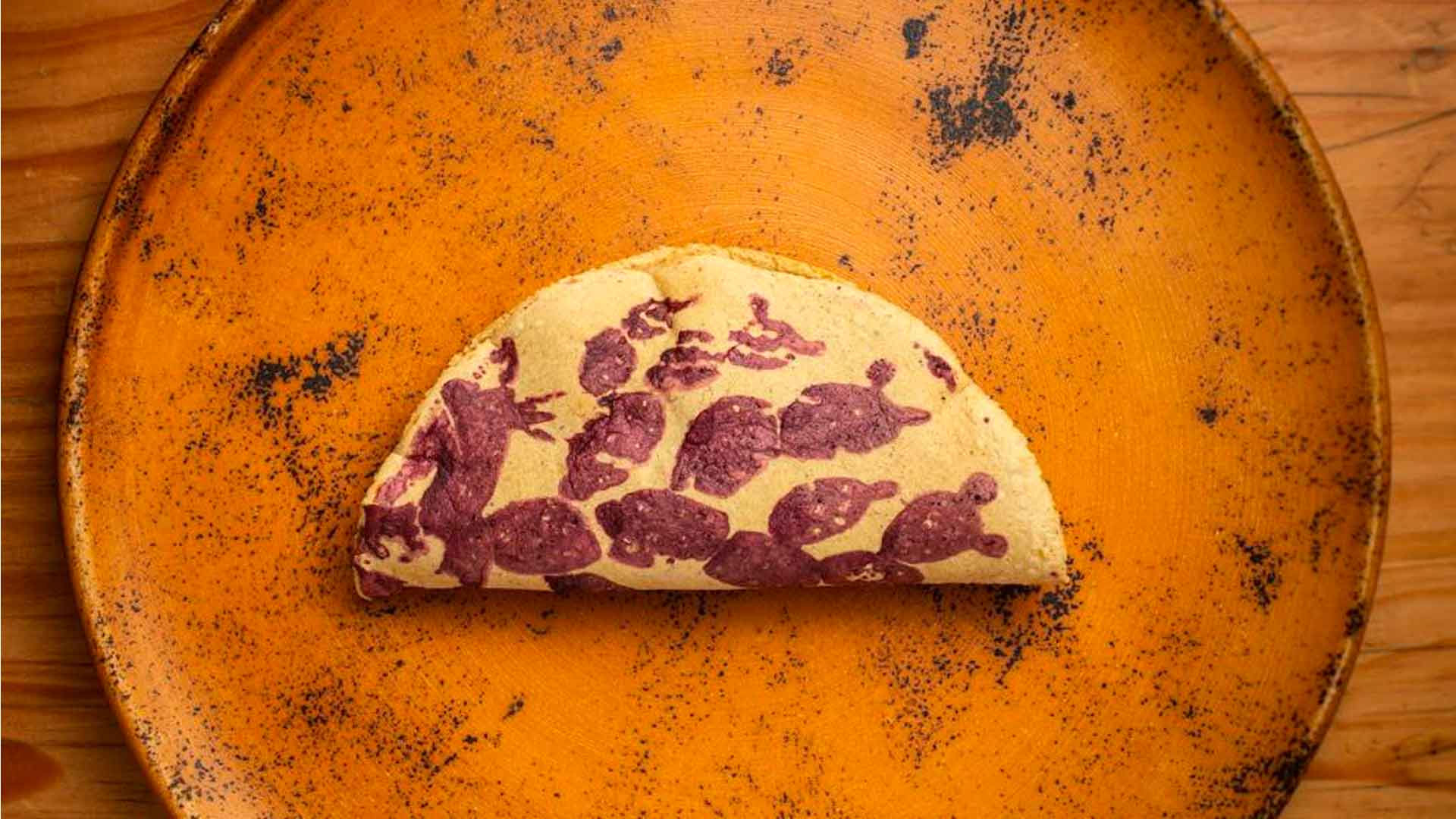 ¿Cómo se prepara un taco ceremonial?