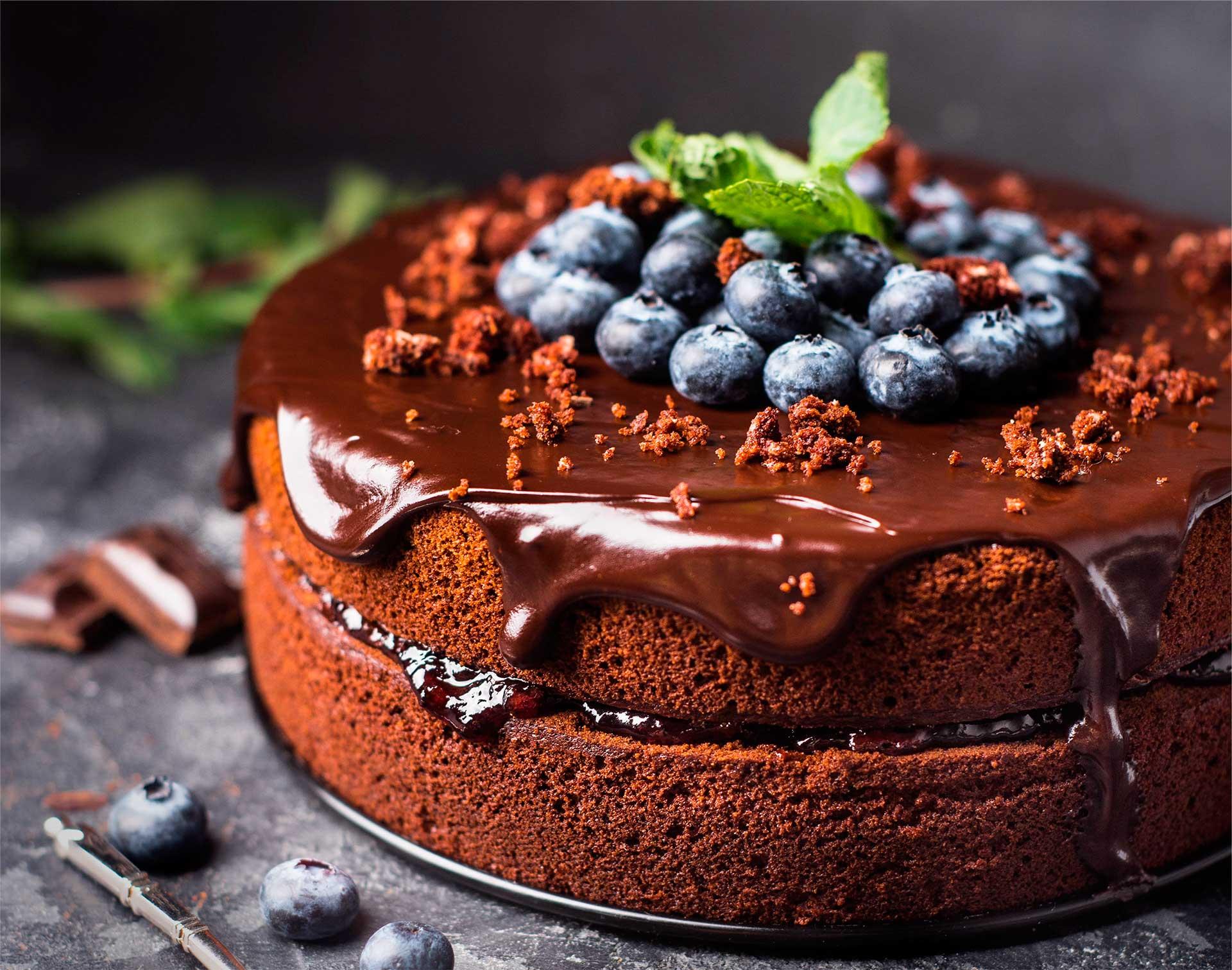 Fruit cake navideño