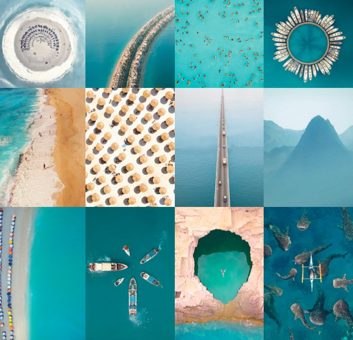 capturas aéreas collage