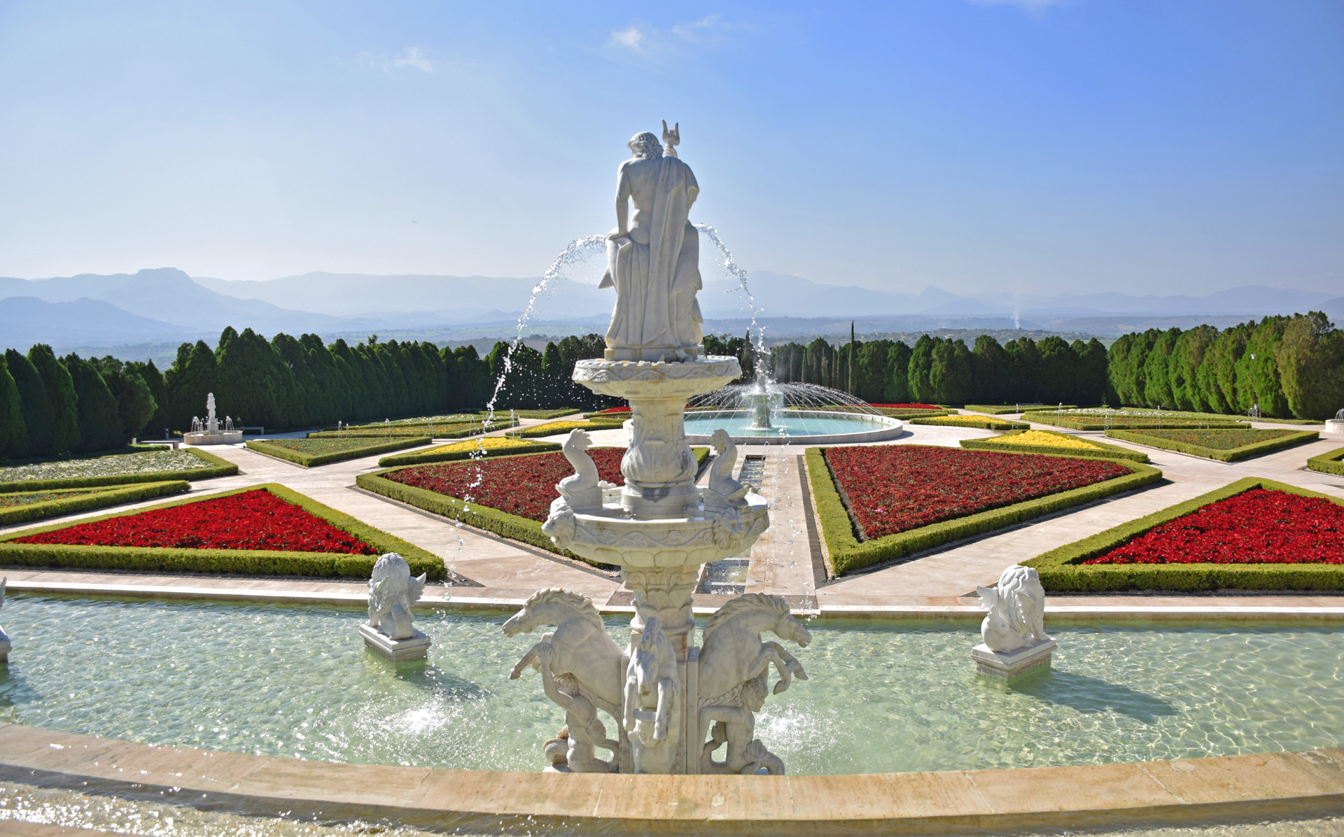 Jardín Italiano, Jardines de México