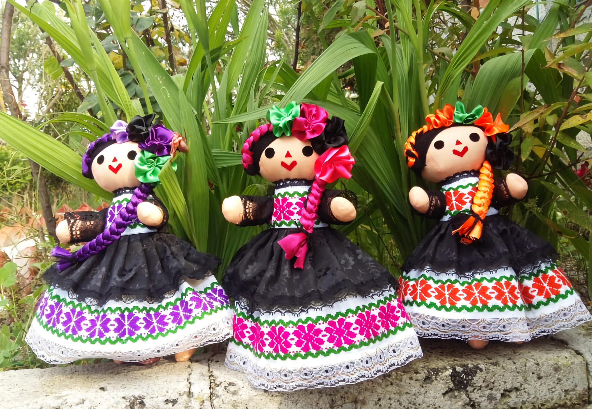 Muñecas Lele otomíes