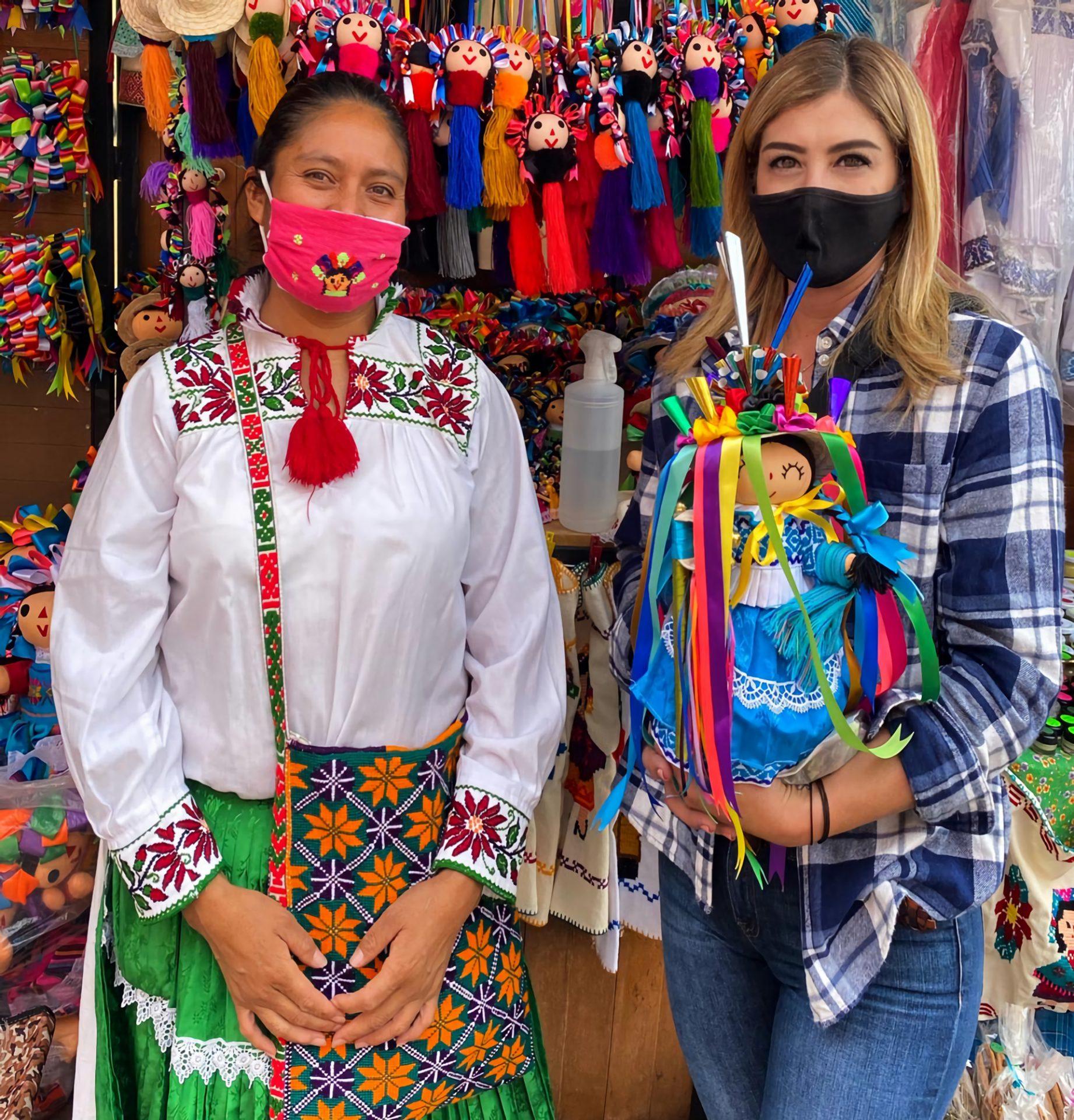 Artesanas mexicanas de Amealco