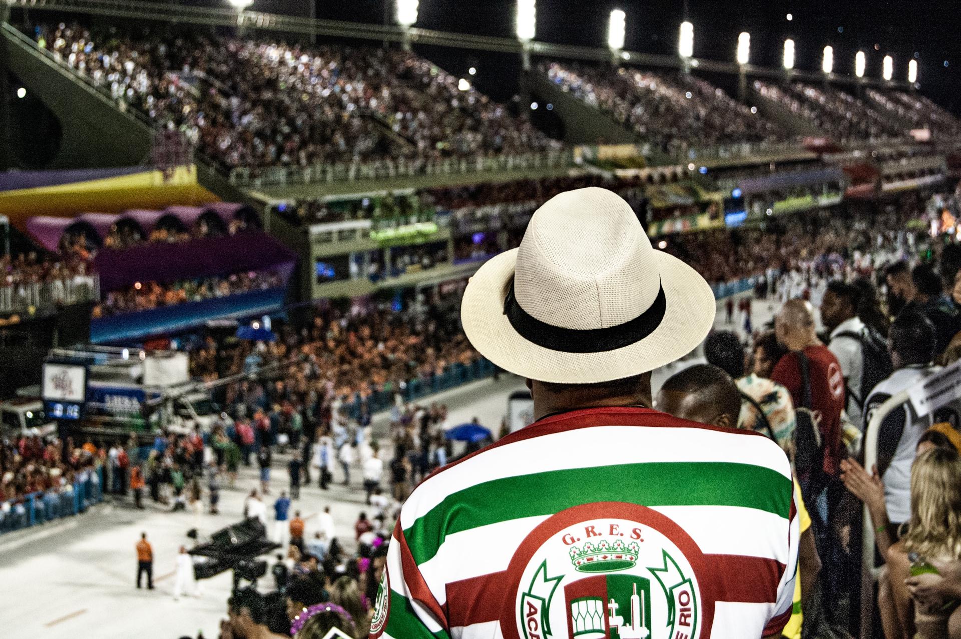 Sambódromo de Río, donde ocurren los carnavales