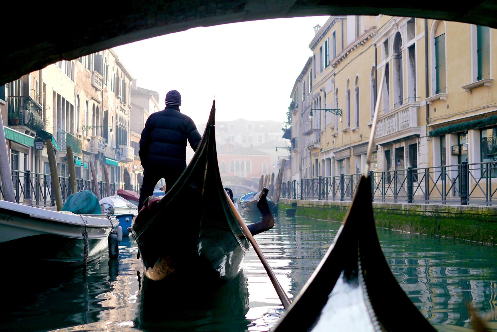 Carnaval de Venecia sin gente