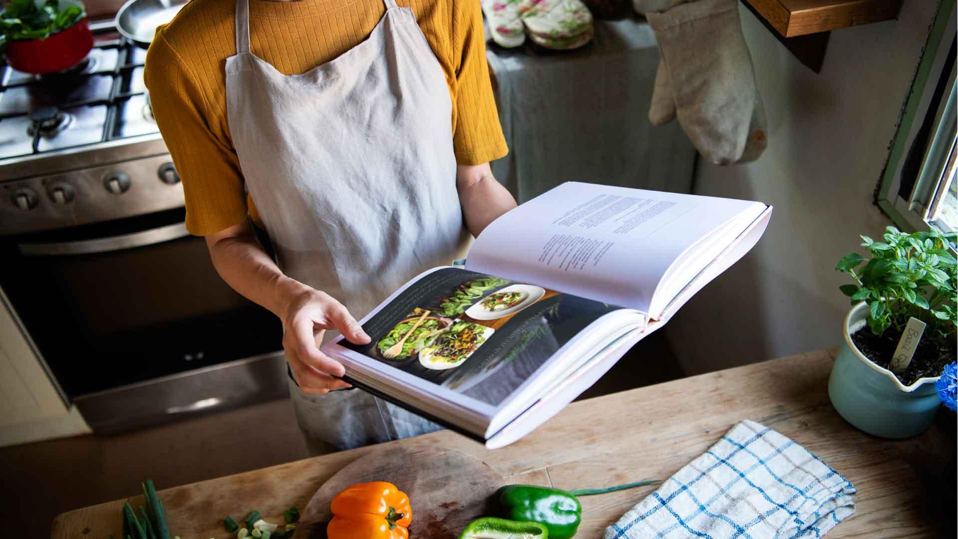 3 libros nuevos de cocina para retomar el camino saludable