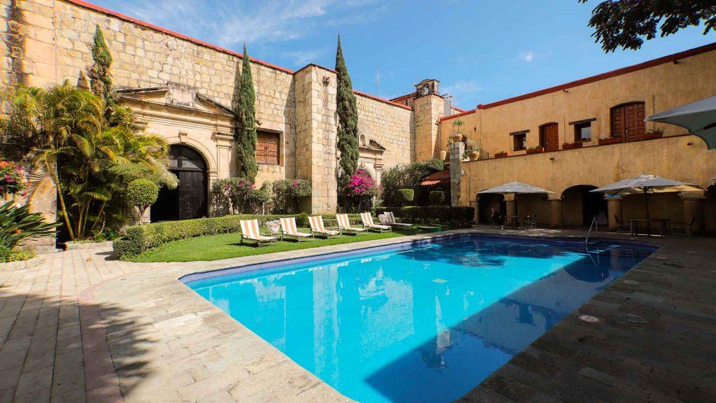 Quinta Real Oaxaca, fusión de magia e historia