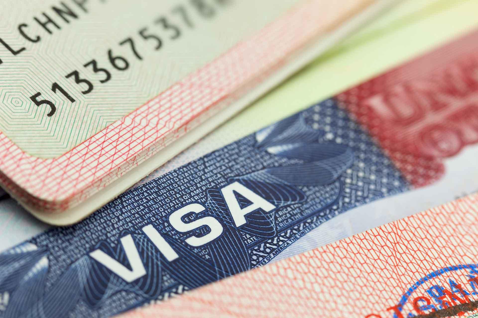 Pasaporte mexicano y visa americana