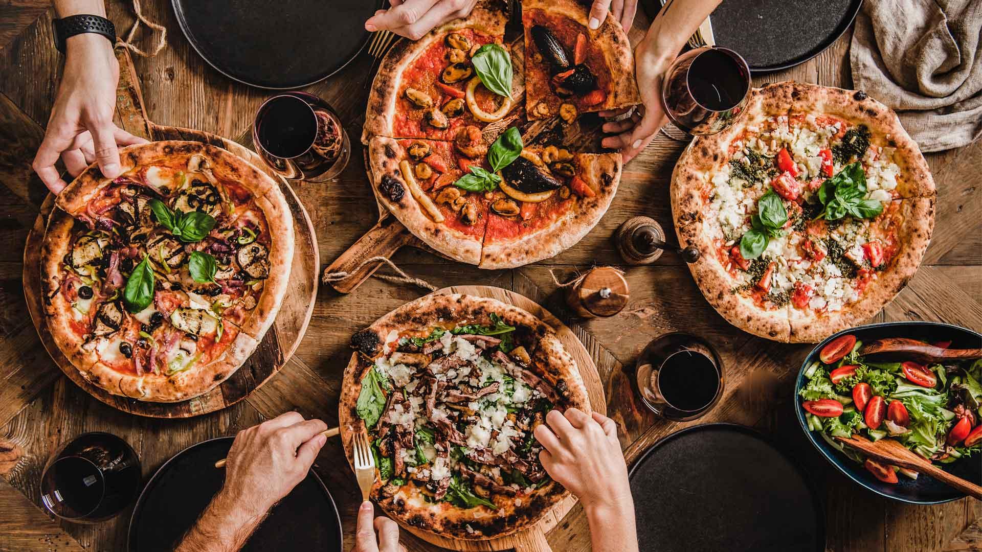 Celebra el día mundial de la pizza