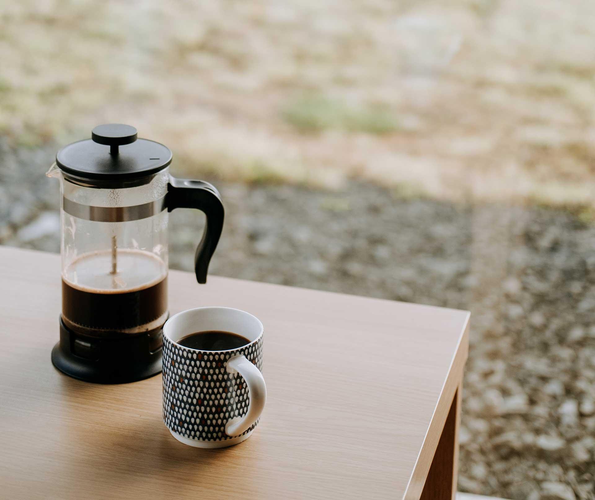 Extracción de café