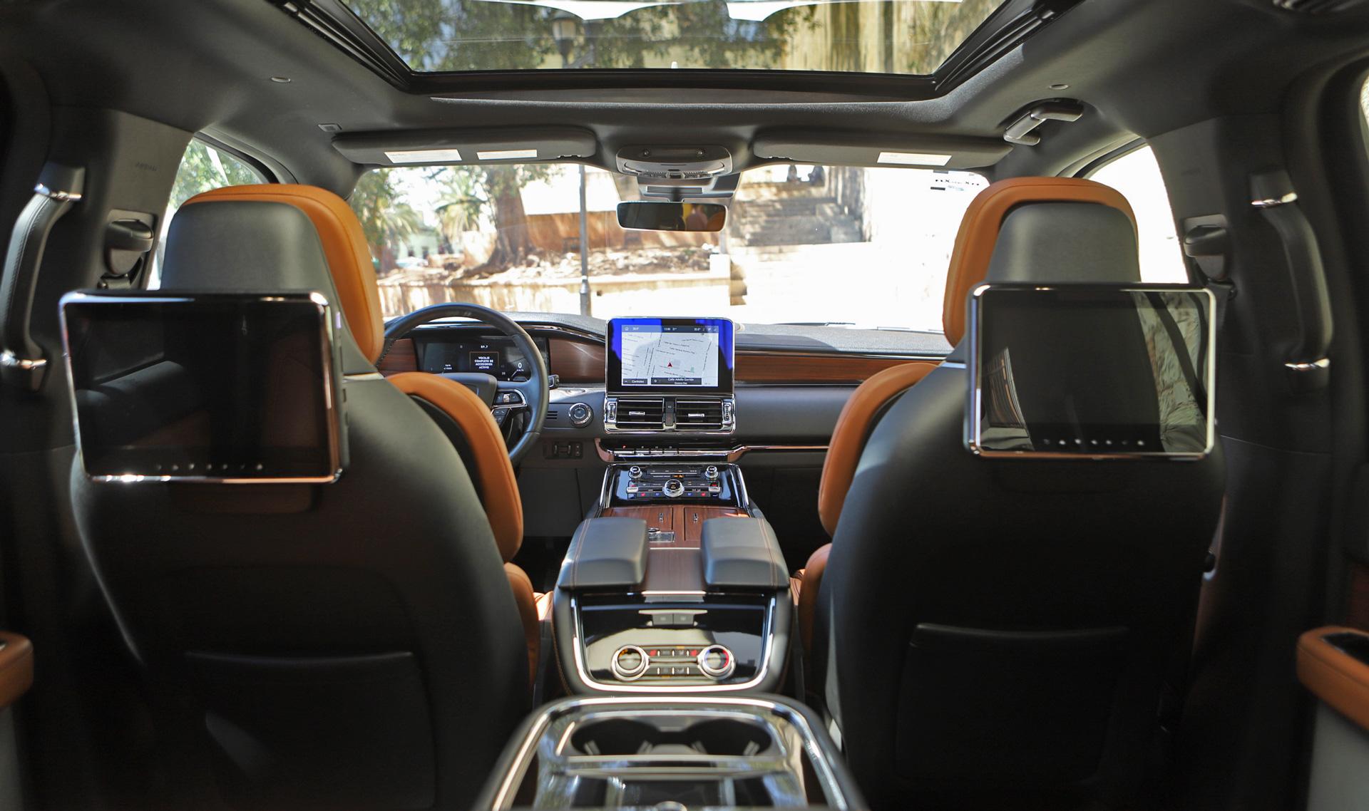 Interiores Lincoln Navigator