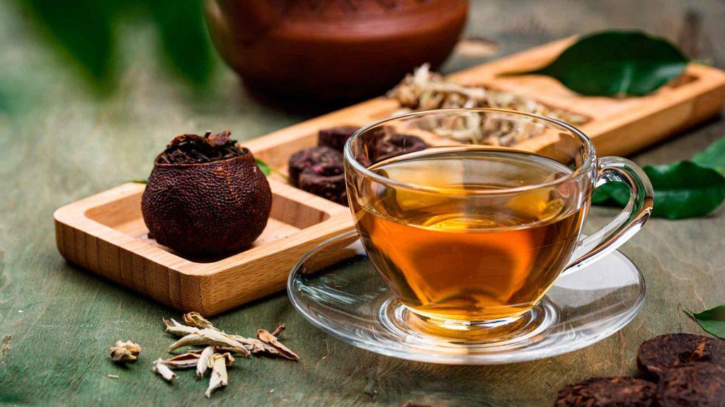 Xiao Qing Gan… ¡Té y mandarina!