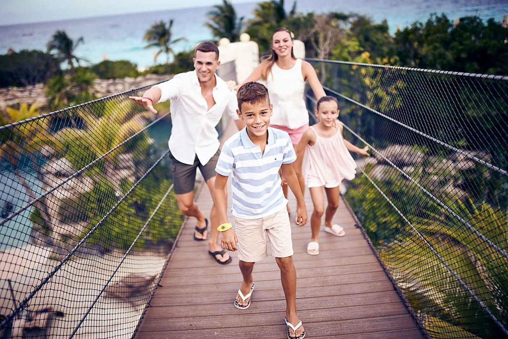 Hotel Xcaret México vacaciones en familia