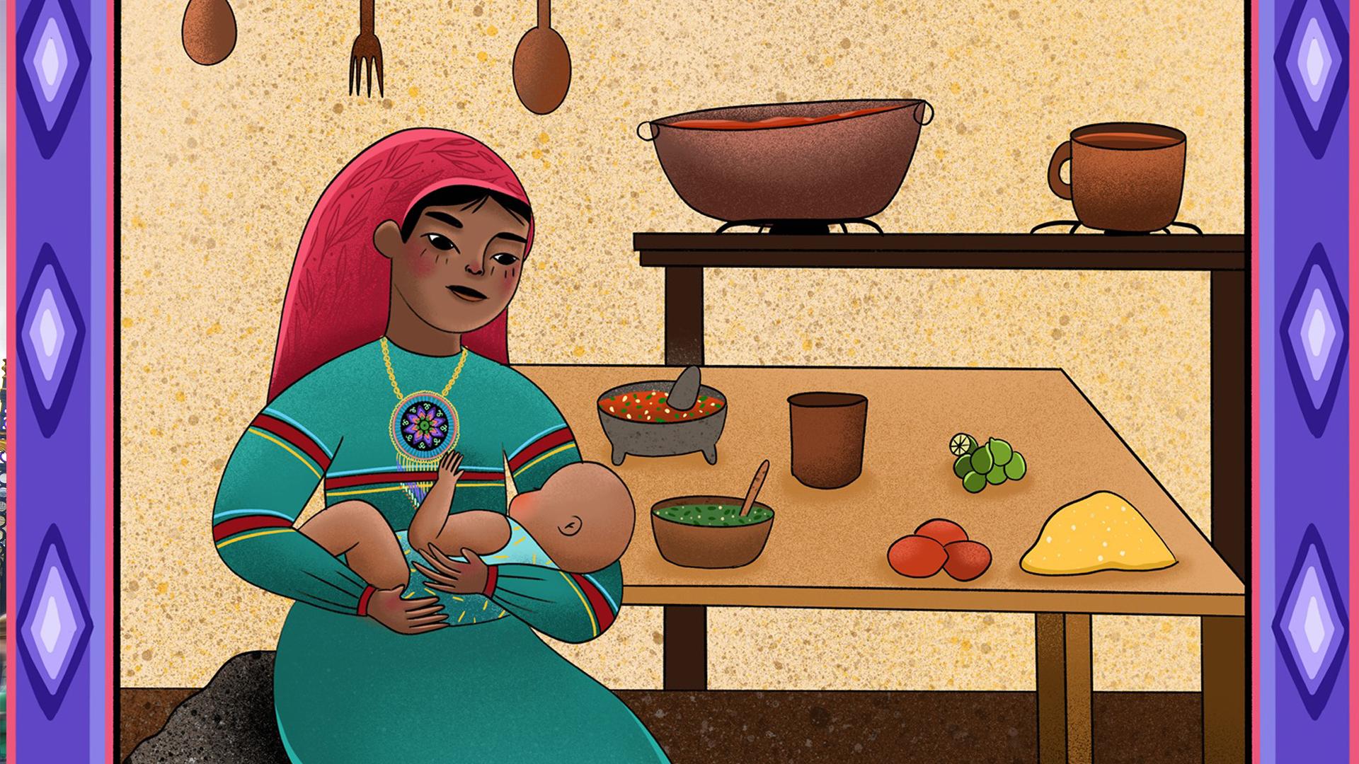 Coeur de Maïs: cocina mexicana ilustrada