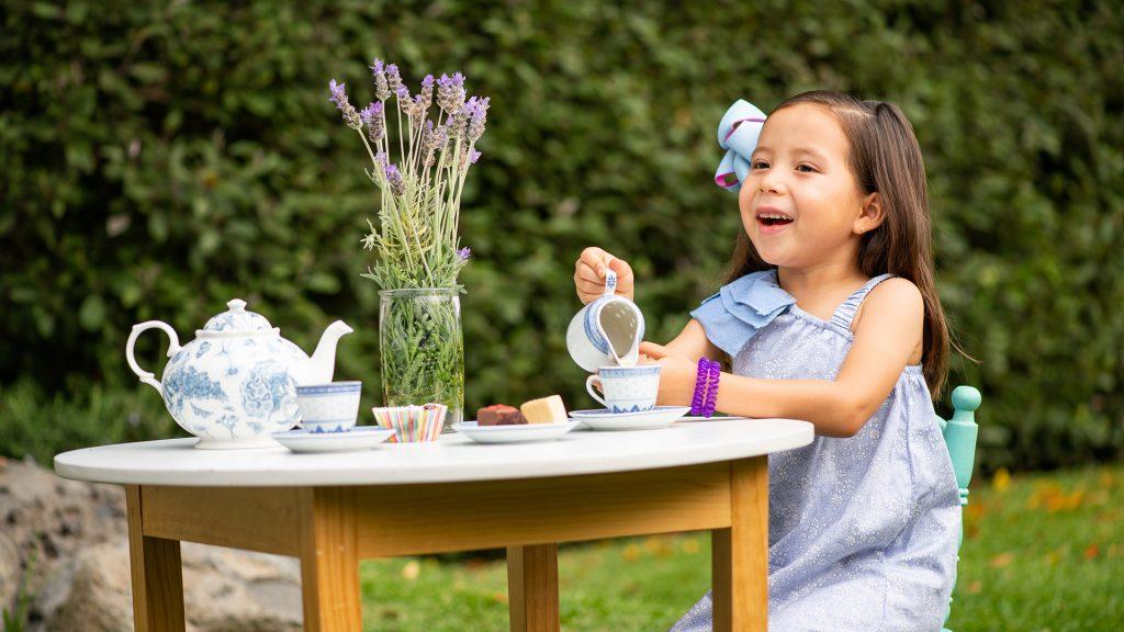 ¡Celebra una fiesta de té para niños!