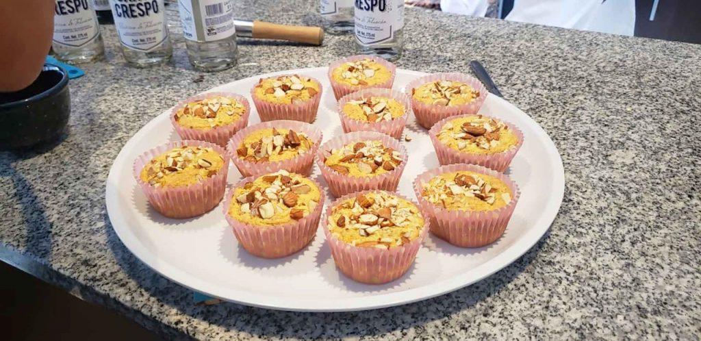 muffins almendras