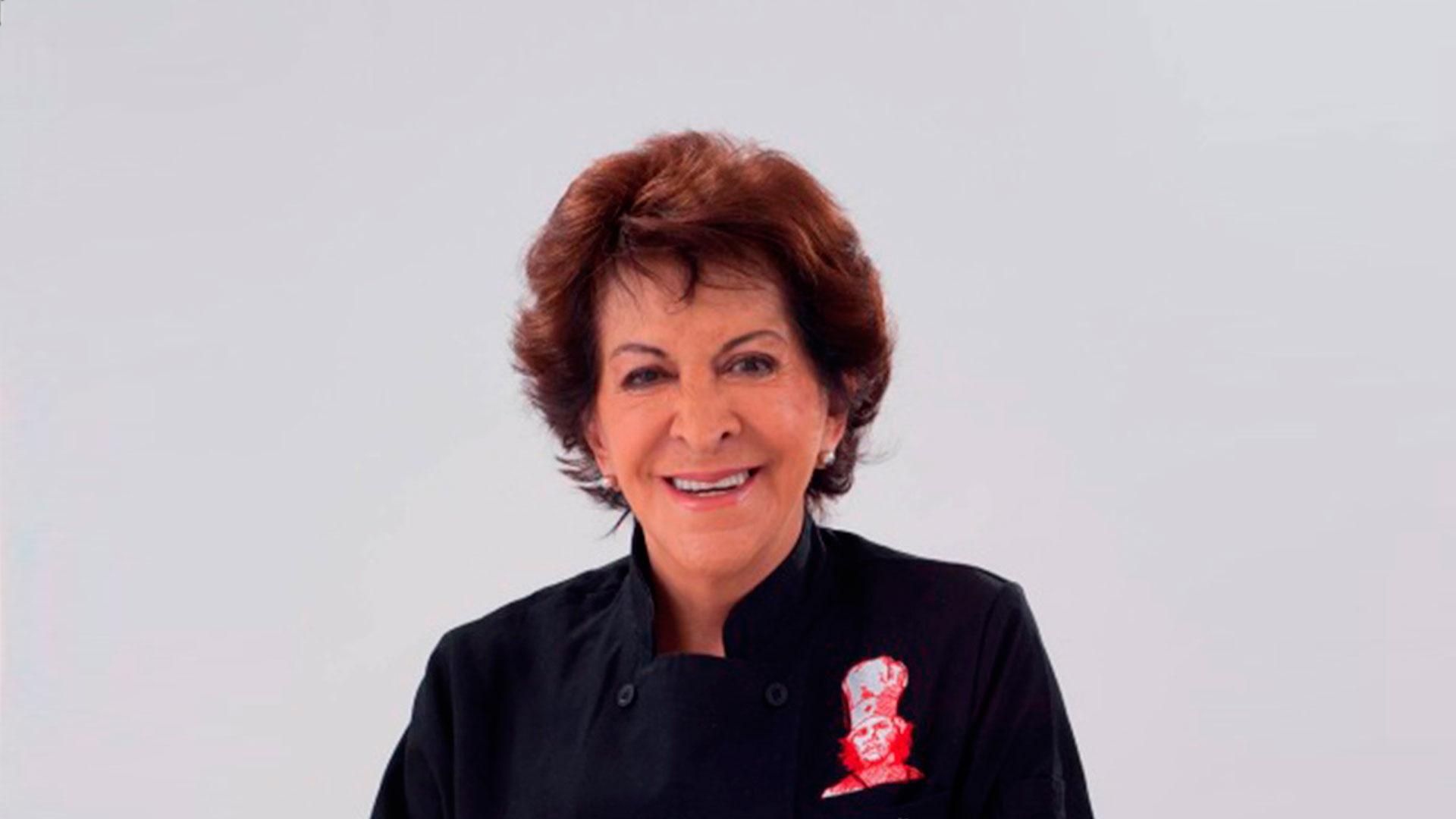 Murió la famosa chef Chepina Peralta
