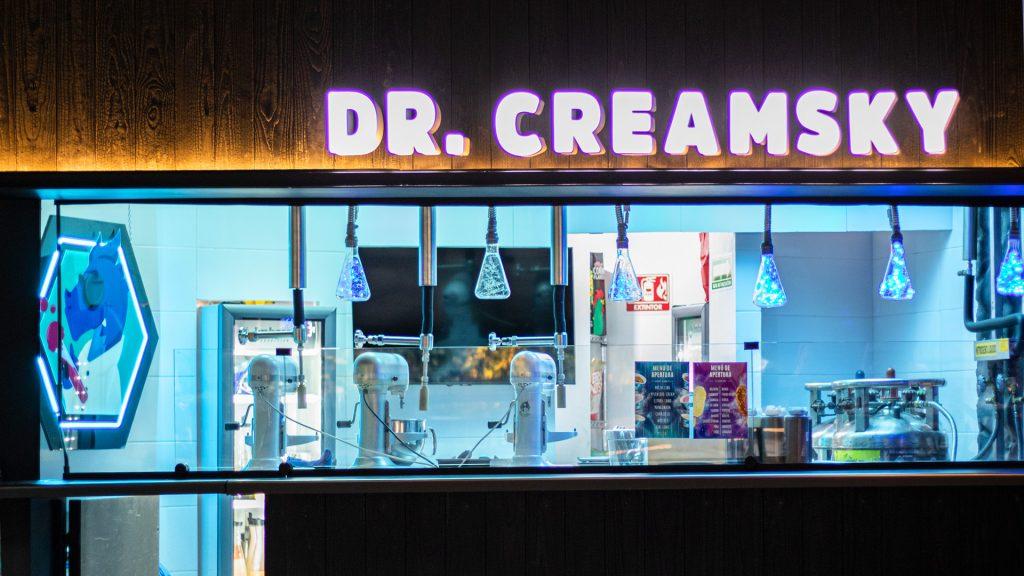 Dr. Creamsky, un laboratorio de helados