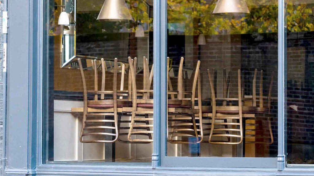Restaurantes cerrados en CDMX por COVID-19