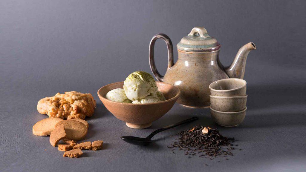 Té y helado… ¡Gélida atracción!
