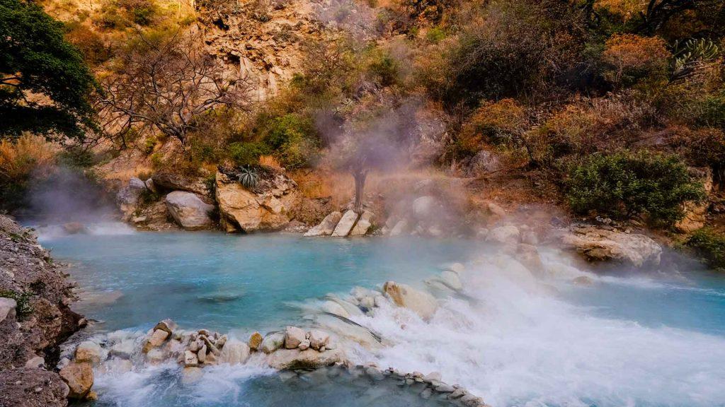 Aguas termales en México para relajarte