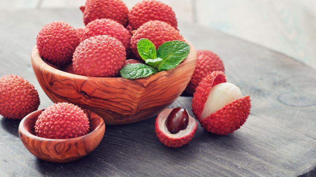 Lichi: fruta exótica de temporada