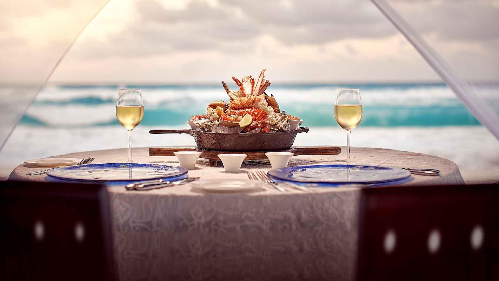 Cinco restaurantes para disfrutar de The Ritz-Carlton, Cancun