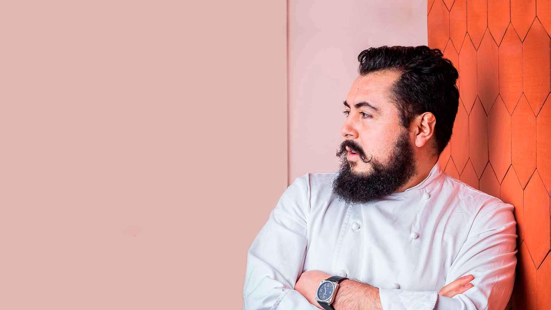 Chef mexicano Enrique Casarrubias y de cómo ganó una estrella Michelin