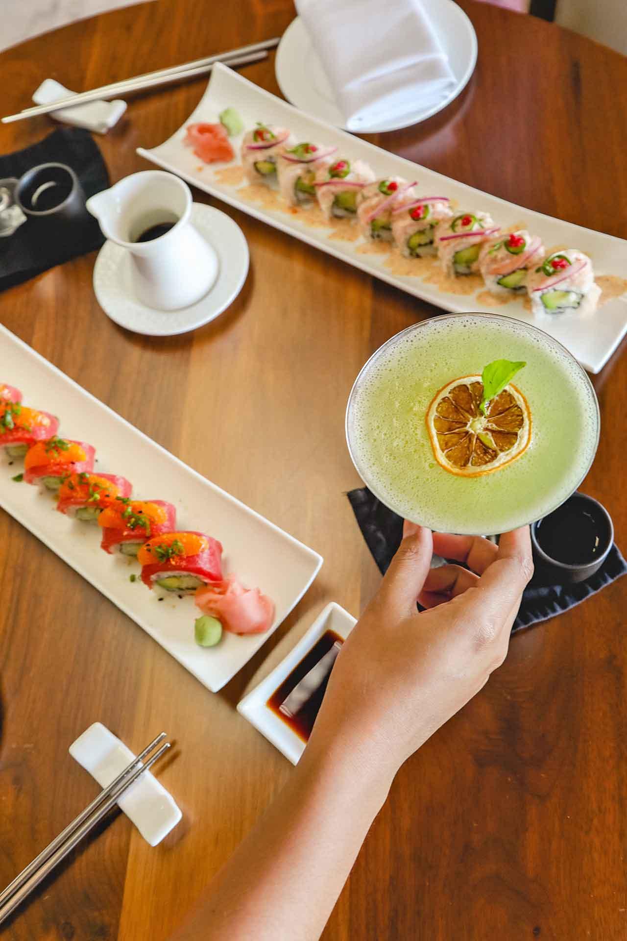 The Ritz-Carlton Cancun, sushi bar