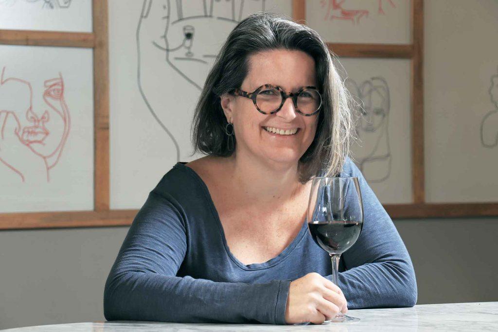 Sommelier Sophie Avernin