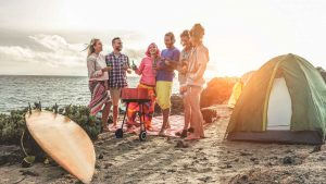 Playas de México en donde puedes acampar