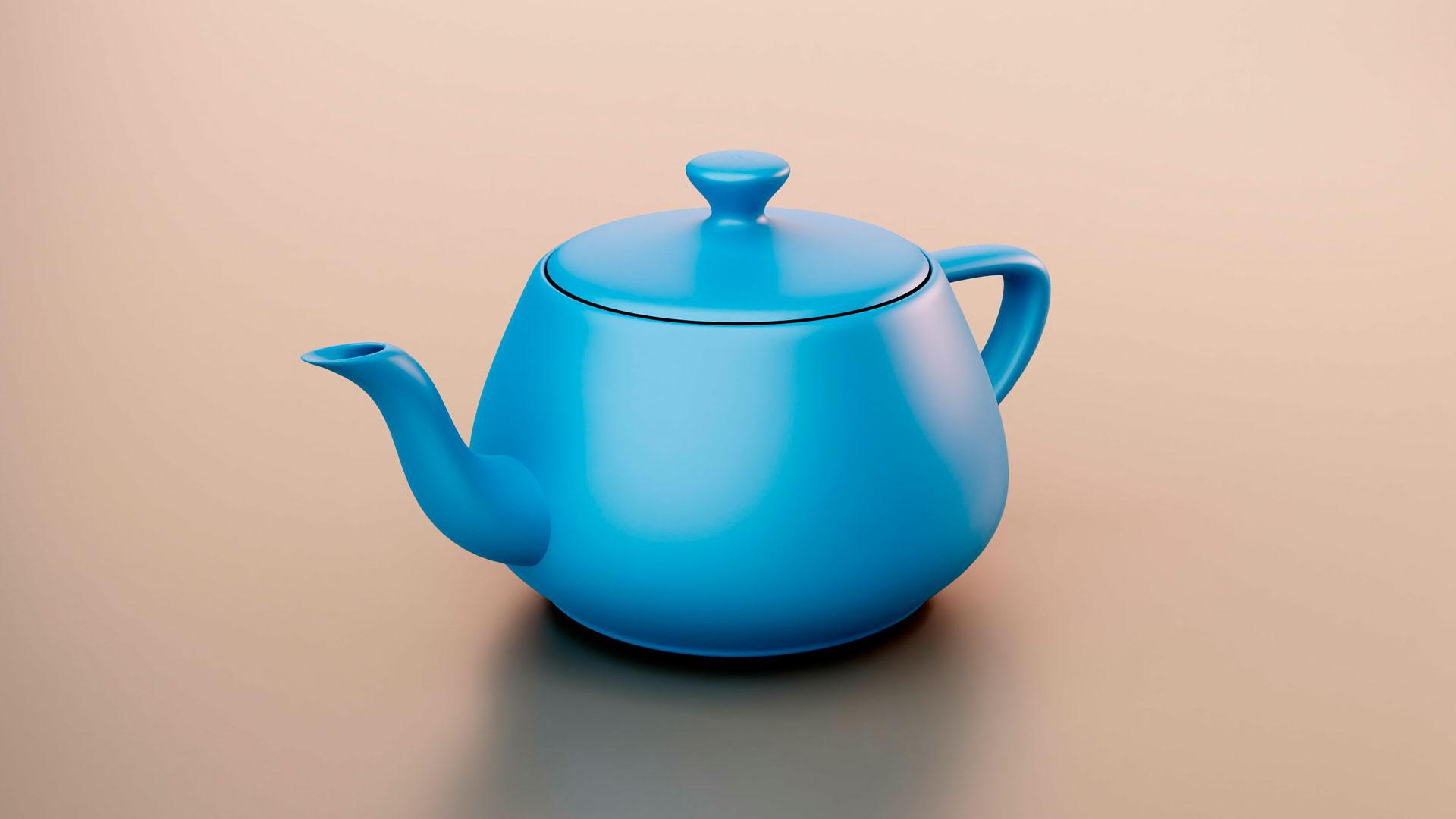 Utah teapot: la tetera más famosa del mundo