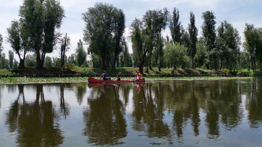 Agricultura ecológica en las Chinampas de Xochimilco